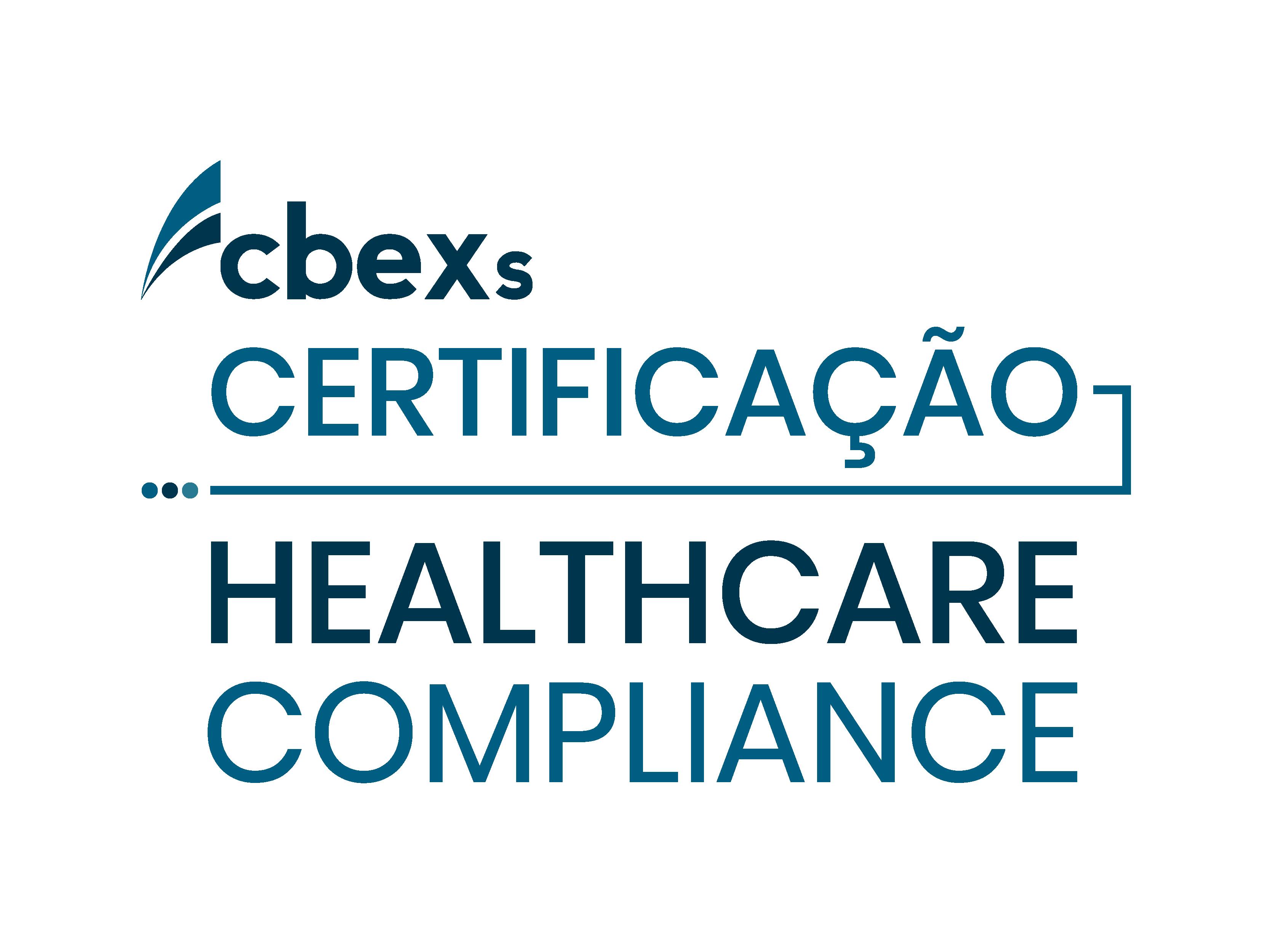 Certificação em Healthcare Compliance 2021 - CBEXs